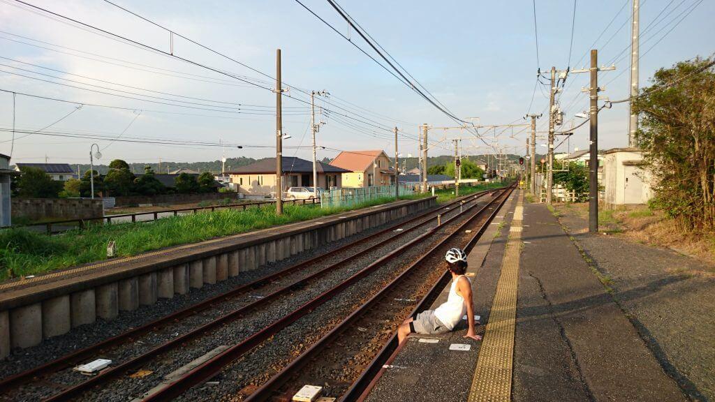 どこかノスタルジーな飯岡駅