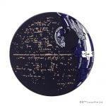 テーブルが宇宙空間に?STAR WARSのデススターなコースター